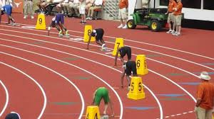 start blocks in relay race