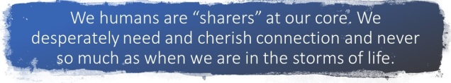 we humans are sharers
